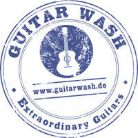 logo guitar wash